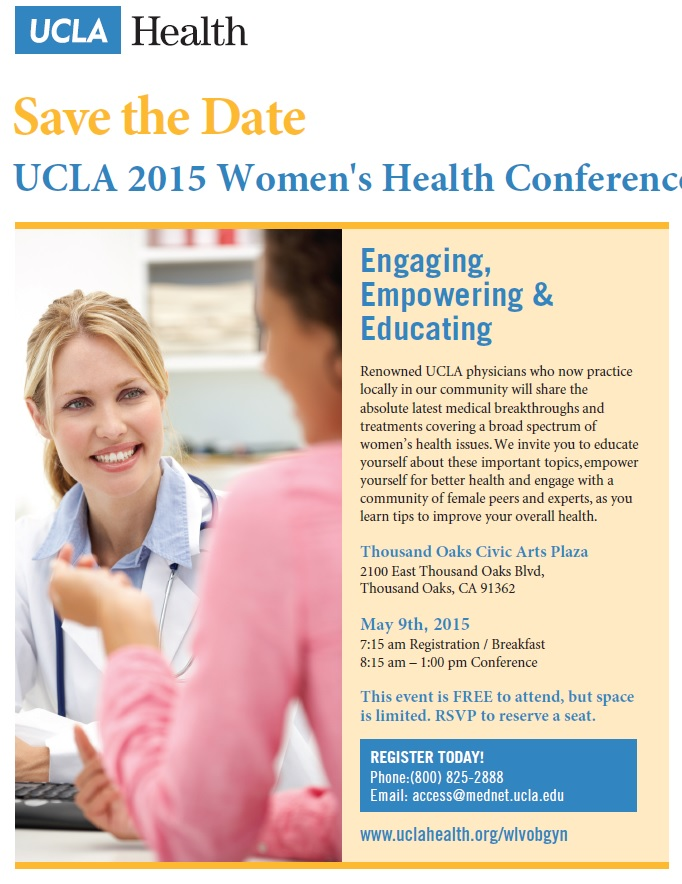 UCLA 2015 Women's Health Conference
